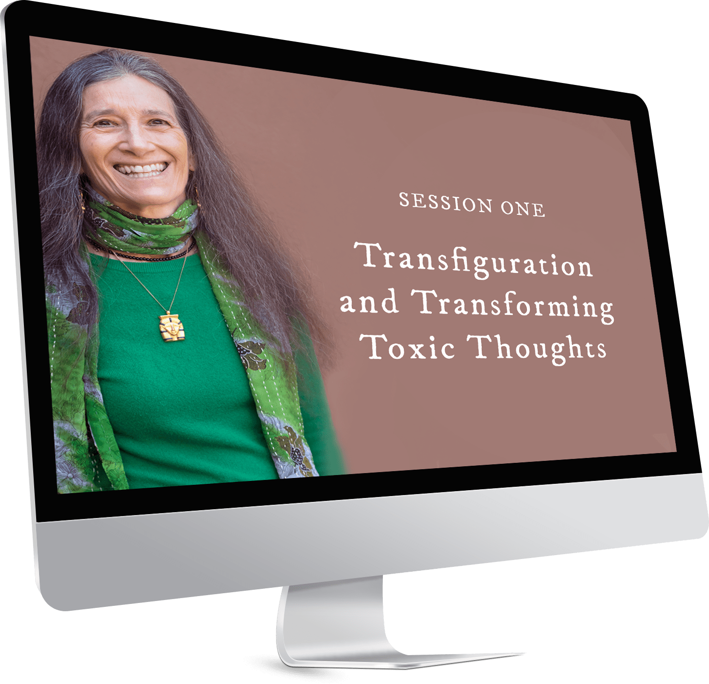 Sign-Up to receive free access to Session One: Transfiguration and Transforming Toxic Thoughts with Sandra Ingerman.