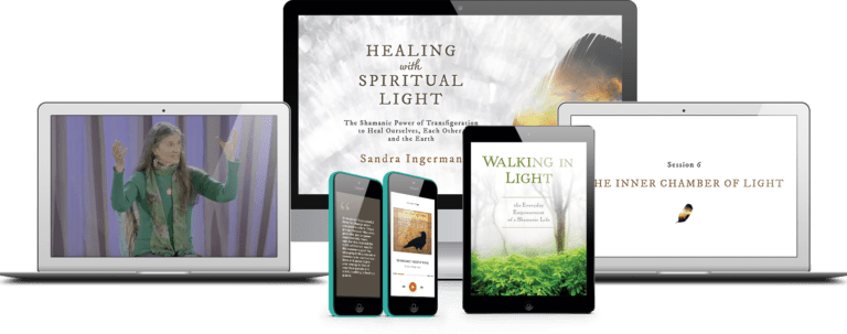 Healing with spiritual light, Walking in Light, Shamanic Meditation